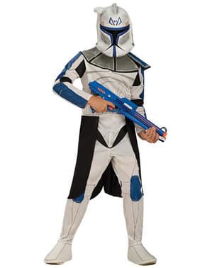 Fato de Clone Trooper Rex para menino