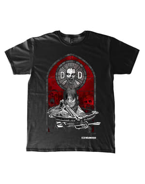 Tricou The Walking Dead Stained Glass