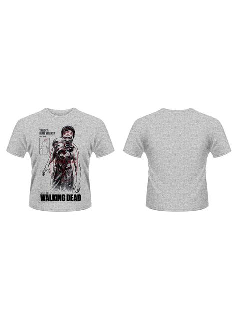 Camiseta de The Walking Dead Target Male Walker