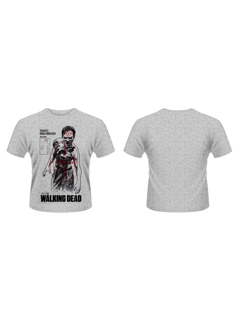 T-shirt de The Walking Dead Target Male Walker