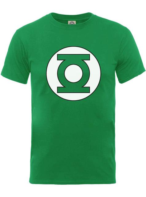 Camiseta de Linterna Verde Emblem para hombre