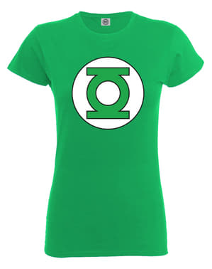 Green lantern t-shirt til kvinder