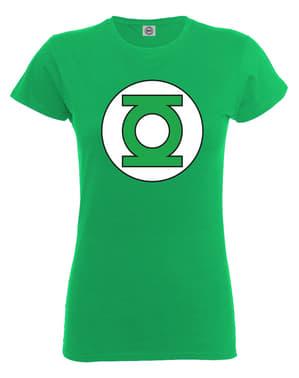 Тениска за зелени фенери за жени
