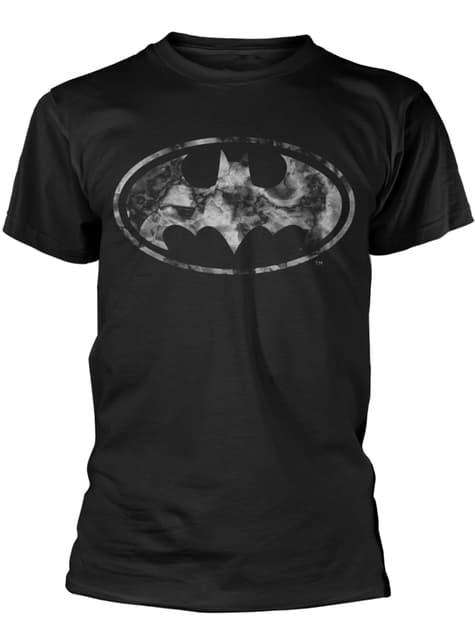 Camiseta de Batman Marble Logo