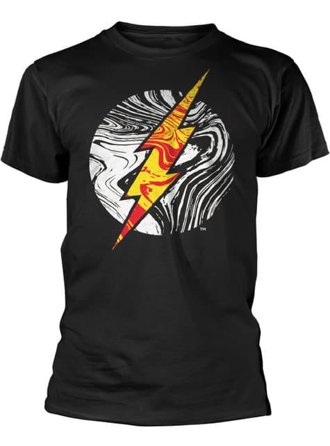 T-shirt Dc Comics Molten Flash Logo