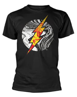 Molten Flash Logo T-Shirt DC Comics