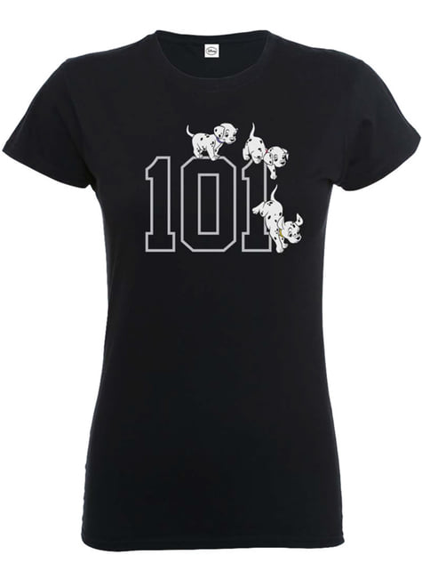 101 Dalmatiner Doggies T-Shirt für Damen