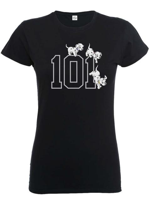T-shirt de 101 Dálmatas Doggies para mulher