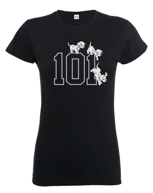 Maglietta della Carica dei 101 Doggies per donna