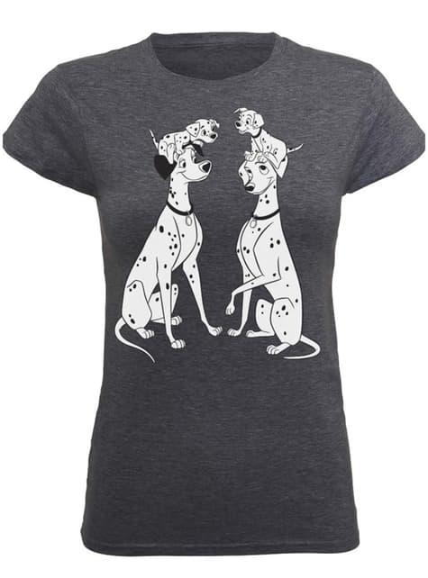 T-shirt Les 101 Dalmatiens Family femme