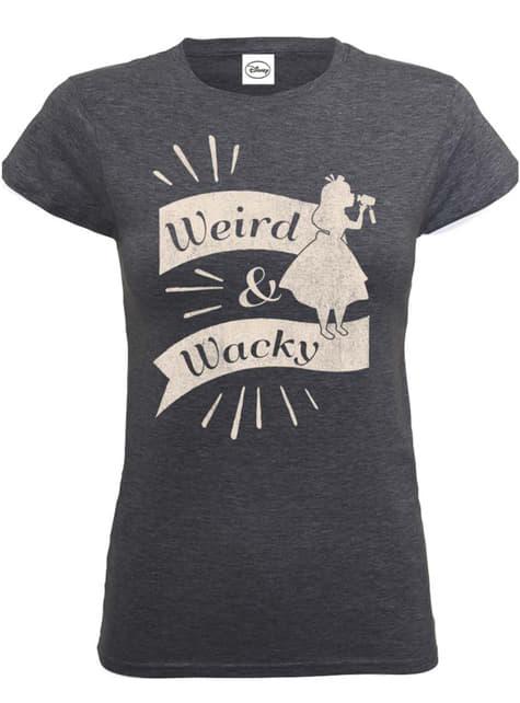 Alice in Wonderland Weird & Wacky t-shirt voor vrouwen