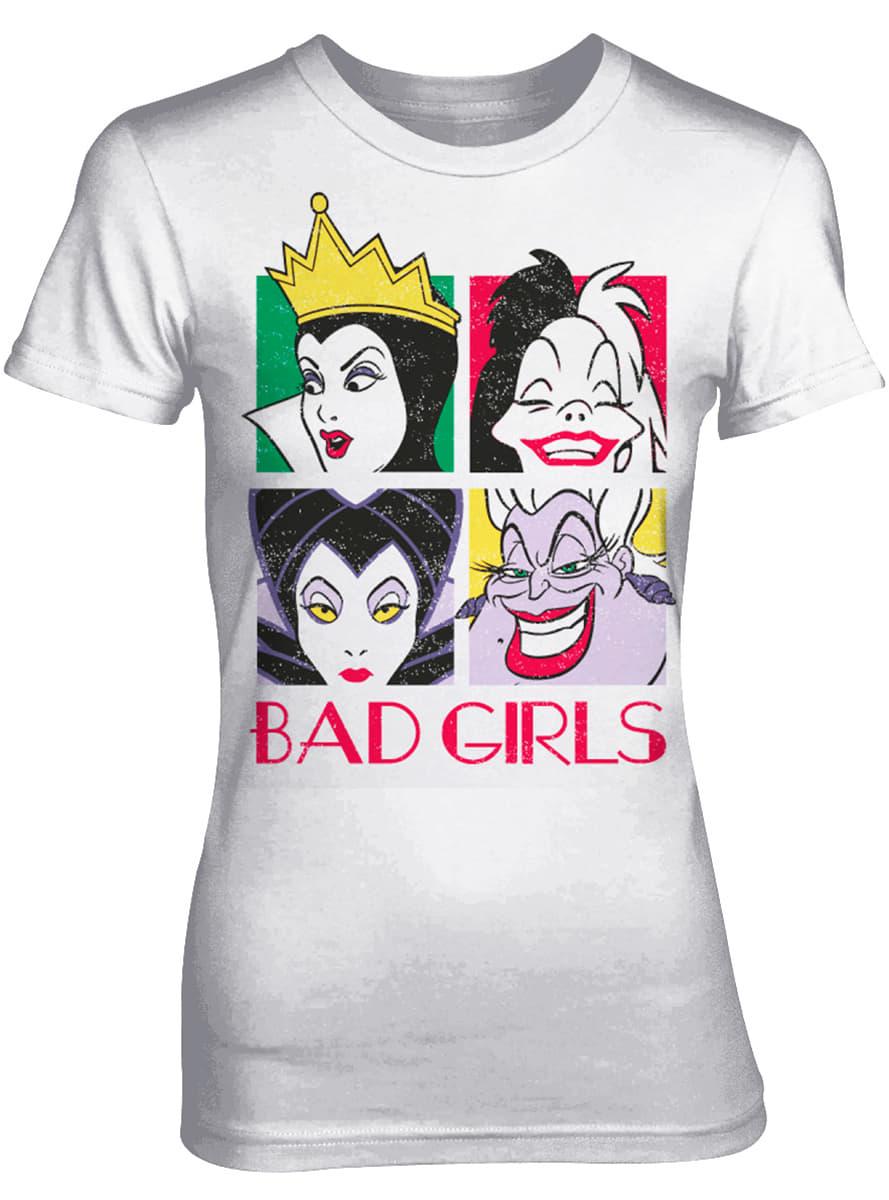 Disney Bad Girls T Shirt For Women For True Fans Funidelia
