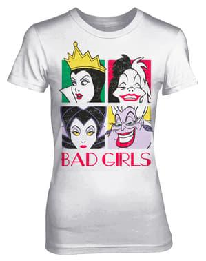 女性のためのディズニーバッドガールズTシャツ