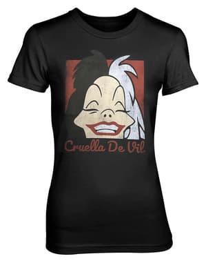 Cruella De Vil Smile tişört kadınlar için