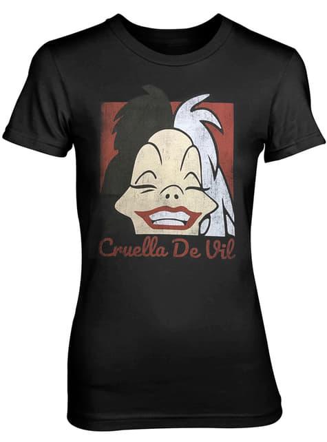 Camiseta de Cruella De Vil Smile para mujer