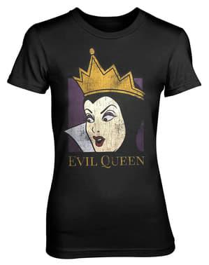 女性のための白雪姫悪Tシャツ