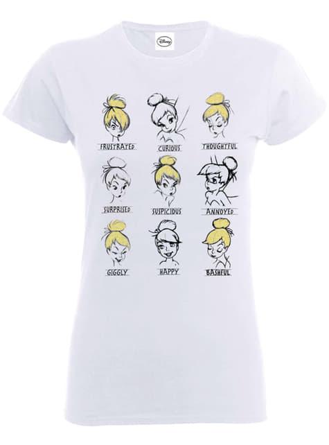 Tinkerbell Mood'lar kadınlar için tişört