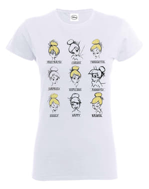 Klokkeblomst humør t-shirt til kvinder