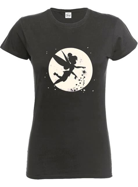 Kadınlar için Tinkerbell Moon tişört