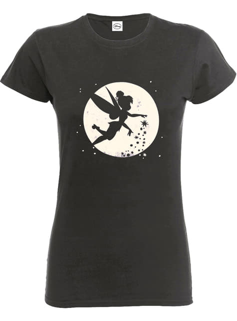 Tinkerbell Moon T-Shirt für Damen