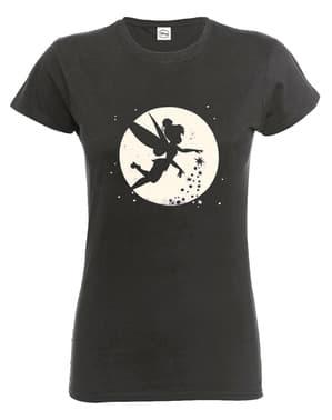 Klokkeblomst måne t-shirt til kvinder