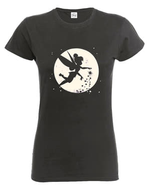 女性のためのティンカーベルムーンTシャツ