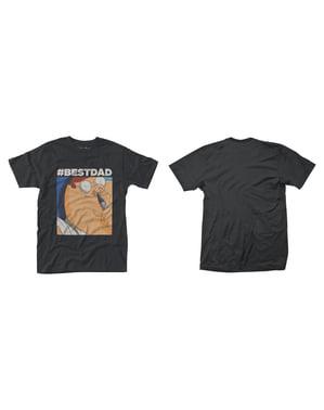 Camiseta de Padre de Familia Hashtag Best Dad