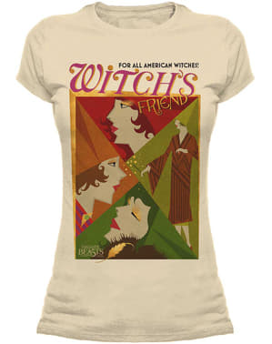 Camiseta de Animales Fantásticos y dónde encontrarlos All American Witches para mujer