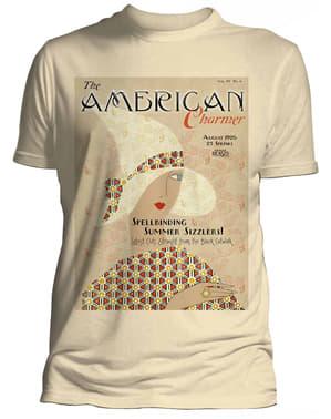 T-shirt de Monstros Fantásticos e Onde Encontrá-los American Charmer para homem