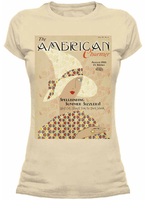 Fantastic Beasts and Where to Find Them American Charmer t-shirt for women