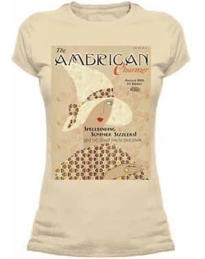 T-shirt de Monstros Fantásticos e Onde Encontrá-los American Charmer para mulher