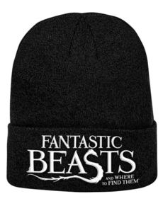 039e80387d4 Fantastic Beasts and Where to Find Them Logo beanie hat