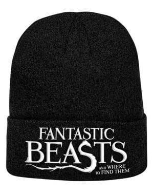 חיות הפלא והיכן למצוא אותן כובע Beanie לוגו
