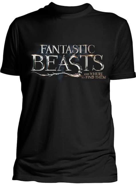 Phantastische Tierwelten und wo sie zu finden sind Logo T-Shirt für Herren