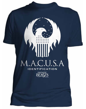 Fabeldyr og Hvor De Er å Finne Macusa t-skjorte for menn