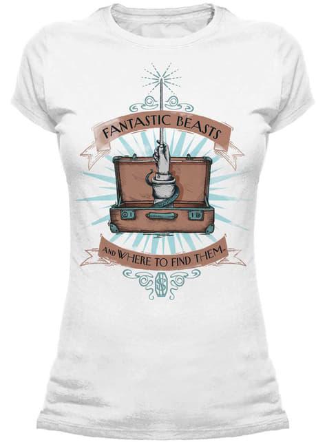 Camiseta de Animales Fantásticos y dónde encontrarlos Wand Case para mujer