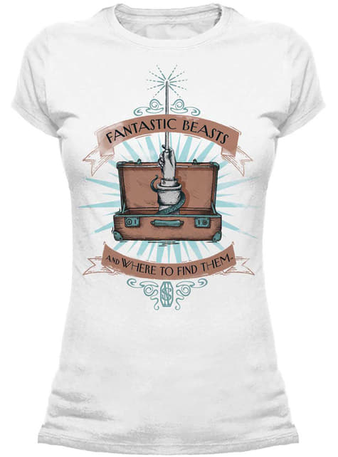 Fantastic Beasts and Where to Find Them Wand Case t-shirt for women