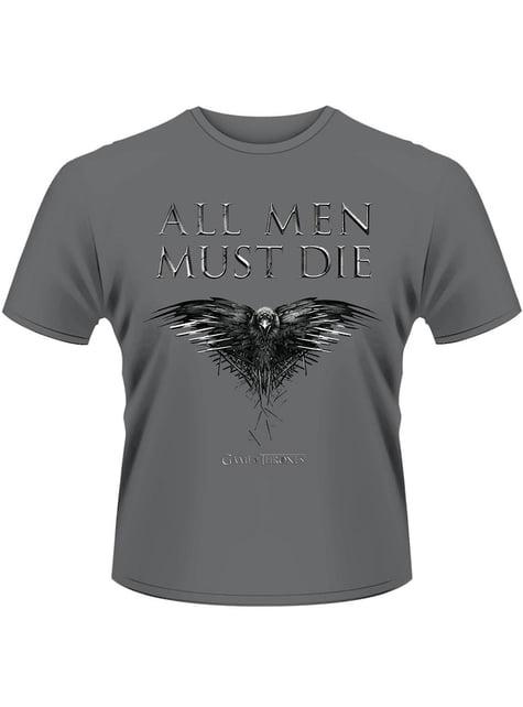 Game of Thrones All Men Must Die t-shirt for men