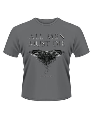 Game of Thrones All Men Must Die t-skjorte for menn