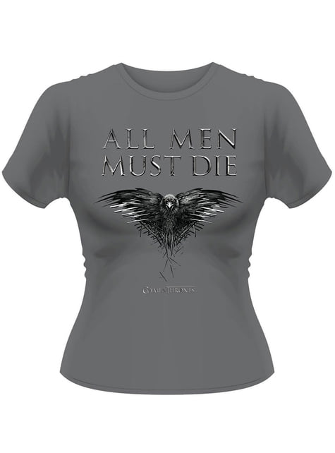 Game of Thrones All Men Must Die t-shirt for women