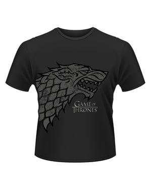 Camiseta de Juego de Tronos Direwolf para hombre