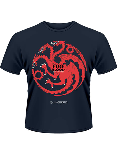 Game of Thrones Fire And Blood t-shirt for men