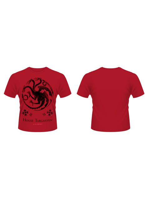 T-shirt Game of Thrones House Of Targaryen