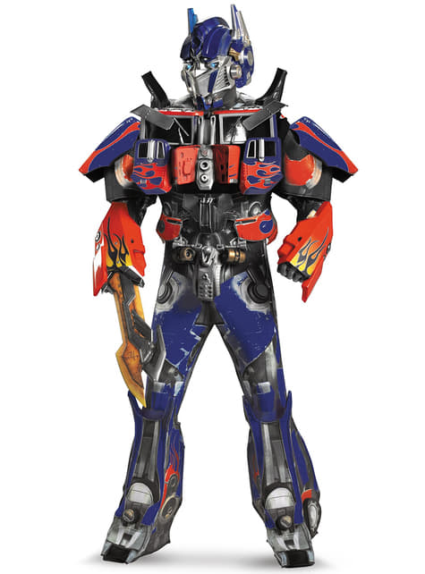 Elite Optimus Prime Transformers Dark of the Moon kostuum voor volwassenen