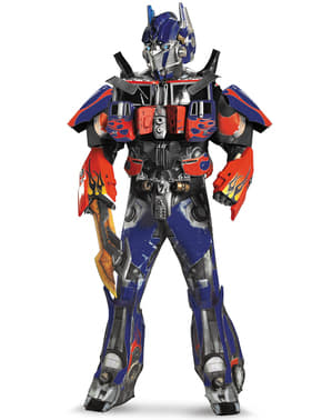 Costume Transformers Optimus Prime Dark of the Moon Élite adulto