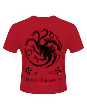 Game Of Thrones House Of Targaryen t-skjorte