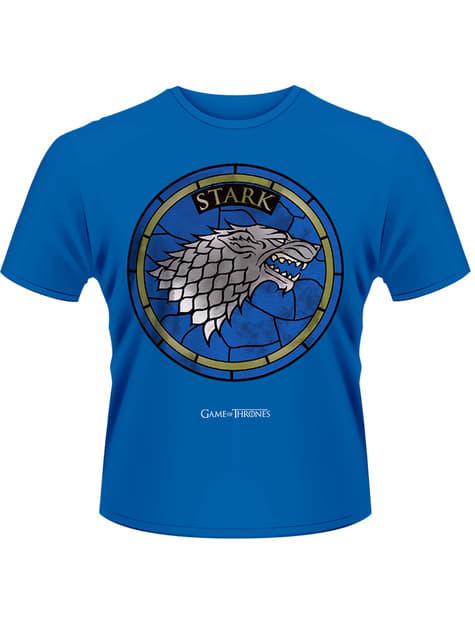 Camiseta de Juego de Tronos House Stark azul
