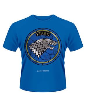 Blå game of thrones stark t-shirt