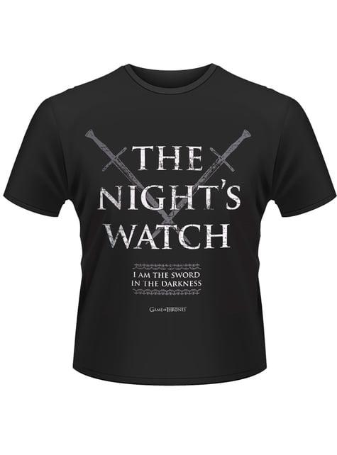 Camiseta de Juego de Tronos Night´s Watch