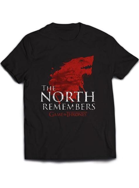 Camiseta de Juego de Tronos The North Remembers